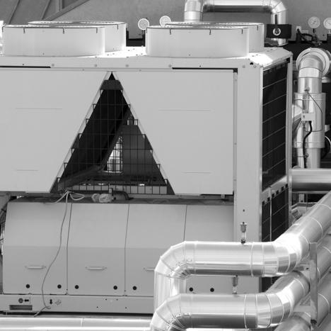 HVAC contractor installs HVAC systems
