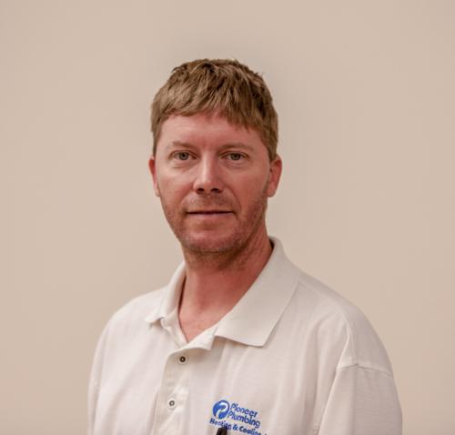 Portrait of George 'Bud' Kelly - HVAC Supervisor