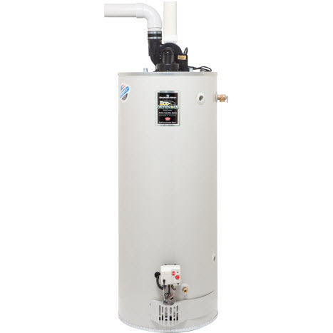 Ultra low NOX power gas water heater no border