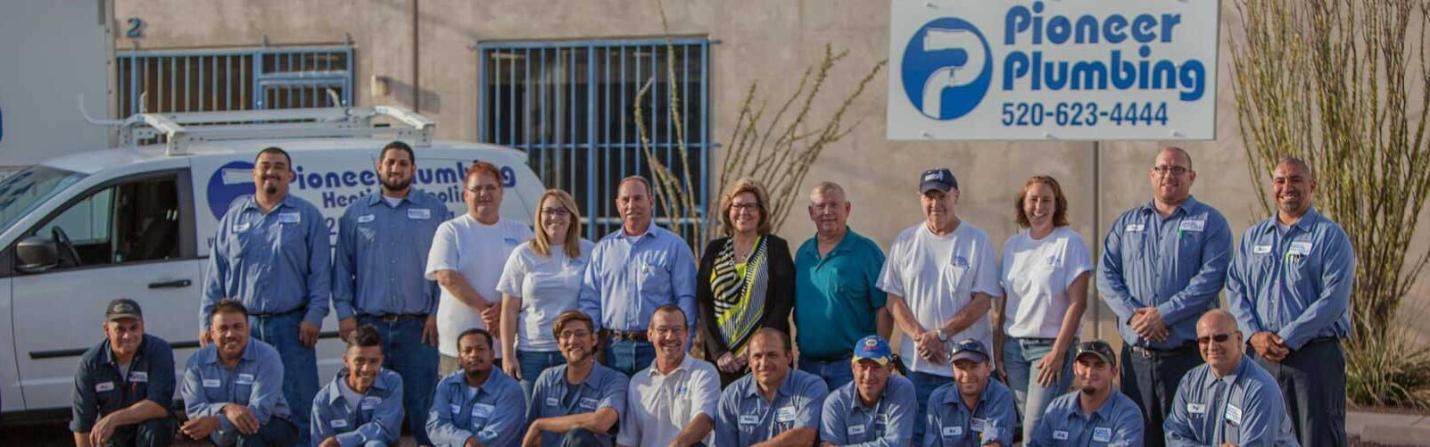Pioneer Plumbing: A Team of Dedicated Professional Plumbers, HVAC Specialists and Construction Workers